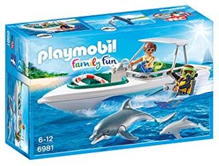 PLAYMOBIL DIVING TRIP W/ SPEEDBOAT 6981