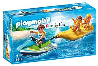 PLAYMOBIL WATERCRAFT W BANANA BOAT 6980