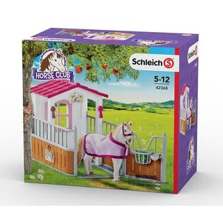 HORSE STALL WITH LUISTANO MARE 42368
