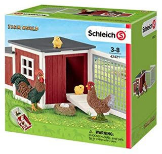 CHICKEN COOP WITH CHICKS 42421