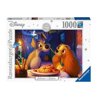 DISNEY MOMENTS LADY & THE TRAMP 1000 PCE