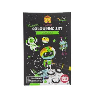 COLOURING SET NEON OUTER SPACE