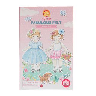 FABULOUS FELT DRESS UPS