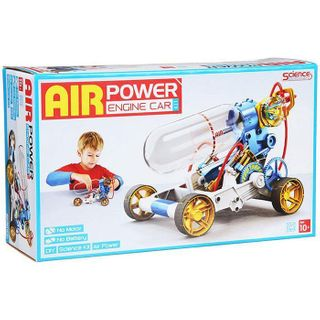 AIR POWERED ENGINE CAR
