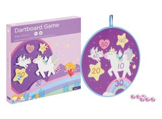 DARTBOARD GAME MAGIC UNICORN