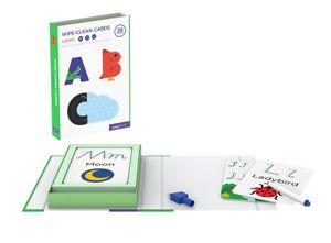 WIPE CLEAN ACTIVITY SET LETTERS