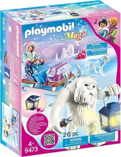 PLAYMOBIL YETI WITH SLEIGH 9473