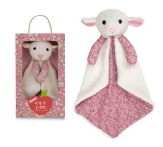 APPLE PARK PATTERNED BLANKIE LAMBY