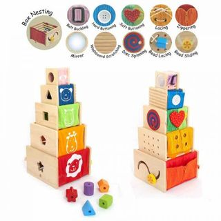 IM TOY 5 ACTIVITY STACKERS