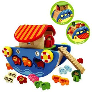 IM TOY NOAH'S ARK 3 IN 1