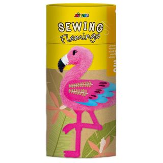 AVENIR SEWING DOLL FLAMINGO