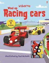 WIND UP RACING CAR BOOK
