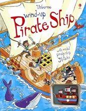 WIND UP PIRATE SHIP BOOK
