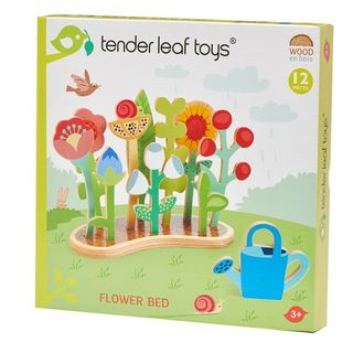 TENDER LEAF FLOWER BED WITH CAN