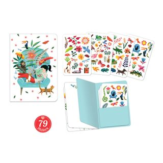 LOVELY PAPER NOTEBOOK & STICKERS SARAH
