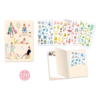 LOVELY PAPER NOTEBOOK & STICKERS TINOU
