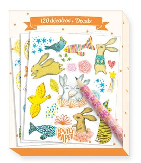 LOVELY PAPER DECALS ELODIE