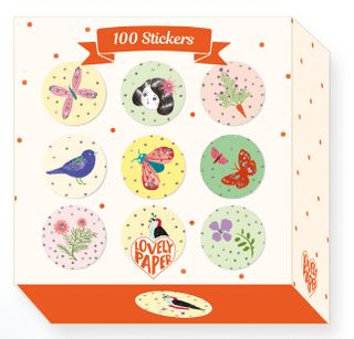 LOVELY PAPER STICKER BOX CHIC