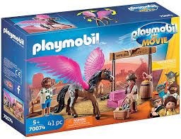 PLAYMOBIL MARLA & DEL WITH PEGASUS 70074