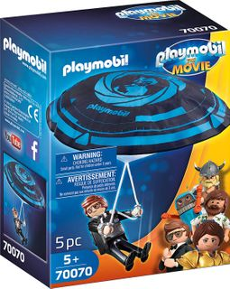 PLAYMOBIL REX DASHER WTH PARACHUTE 70070