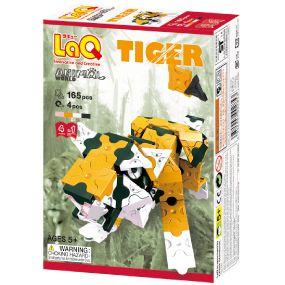 LAQ ANIMAL WORLD TIGER 165PCES