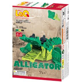 LAQ ANIMAL WORLD ALLIGATOR 175PCES