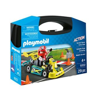 PLAYMOBIL CARRY CASE SMALL GO KART