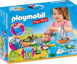 PLAYMOBIL PLAY MAP FAIRY GARDEN 9330