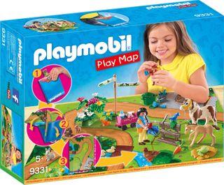 PLAYMOBIL PLAY MAP PONY WALK 9331