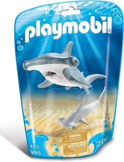 PLAYMOBIL HAMMERHEAD SHARK W/ BABY 9065