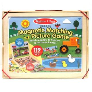 MAGNETIC WOODEN PICTURE GAME