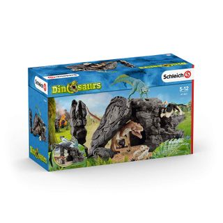 DINO SET WITH CAVE 41461