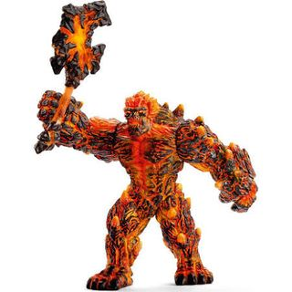 LAVA GOLEM WITH WEAPON 42447
