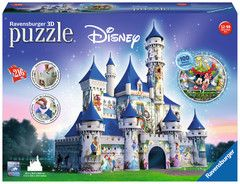 DISNEY CASTLE 3D PUZZLE 216PCE