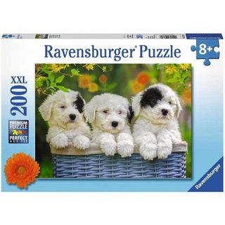 CUDDLY PUPPIES PUZZLE 200 PCE