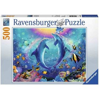 DANCING DOLPHINS PUZZLE 500 PCE