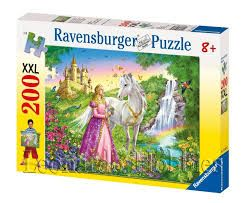 PRINCESS WITH HORSE PUZZLE 200 PCE
