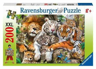 BIG CAT NAP PUZZLE 200 PCE