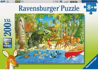 WOODLAND FRIENDS PUZZLE 200 PCE