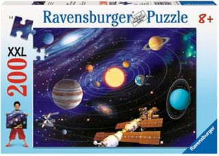 SOLAR SYSTEM PUZZLE 200 PCE
