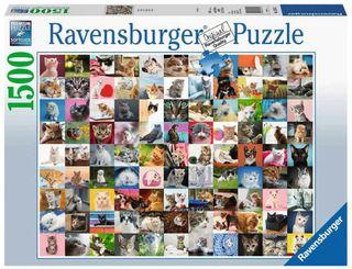 99 CATS PUZZLE 1500 PCES