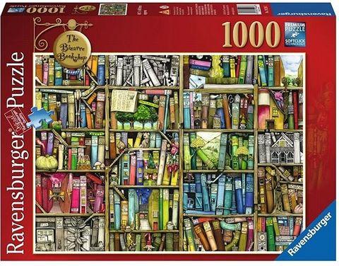 BIZARRE BOOKSHOP PUZZLE 1000 PCE