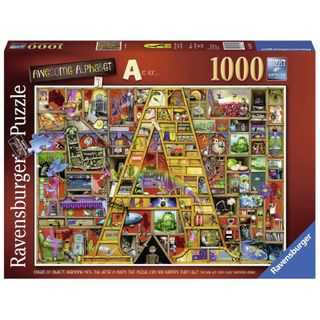AWESOME ALPHABET A PUZZLE 1000 PCE