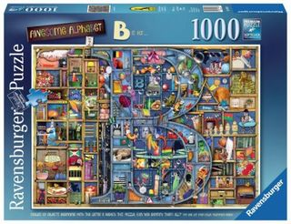 AWESOME ALPHABET B PUZZLE 1000 PCE
