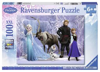 FROZEN 2 REALM OF SNOW QUEEN PUZZ 100 PC
