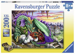 QUEEN OF DRAGONS PUZZLE 200 PCE