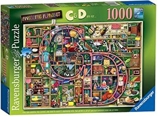 AWESOME ALPHABET C&D PUZZLE 1000 PCE