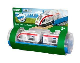 BRIO TRAVEL TRAIN & TUNNEL 3 PCES 33890