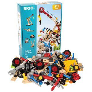 BRIO BUILDER ACTIVITY SET 211 PIECES