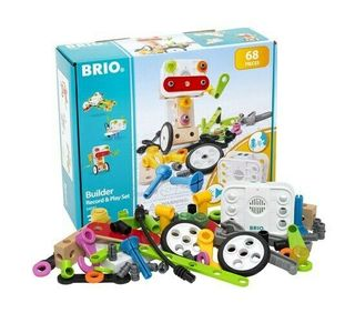 BRIO BUILDER RECORD PLAY SET